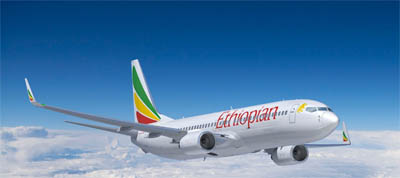 journey of ethiopian airlines Ethiopian airlines flight 961, a boeing 767-200er, was hijacked on 23 november 1996,  explain they had only taken on the fuel needed for the scheduled flight and thus could not even make a quarter of the journey, but the hijackers did not believe him.
