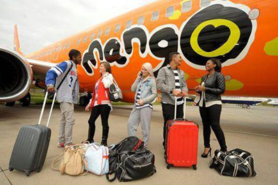 mango airlines baggage