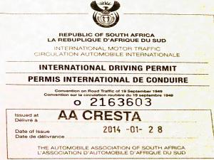 how to get an international license in south africa