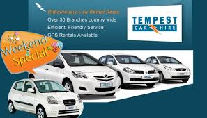 Tempest Car Hire South Africa All Airport Flight Specials